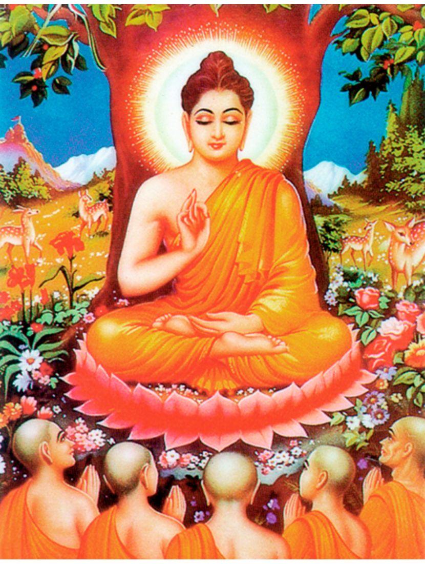 """Алмазная мозаика """"Духовный учитель Будда"""""""
