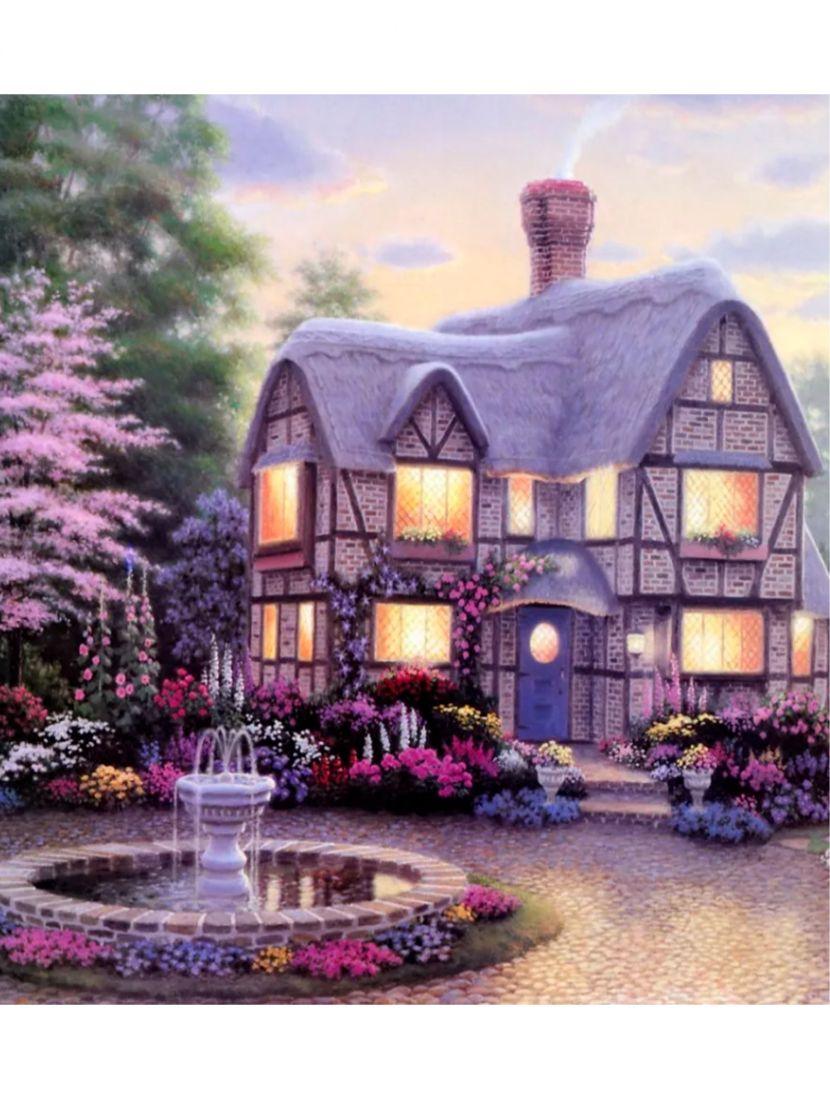 Алмазная мозаика «Уютный домик»