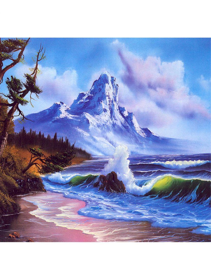 """Алмазная мозаика """"Волнующее побережье"""""""