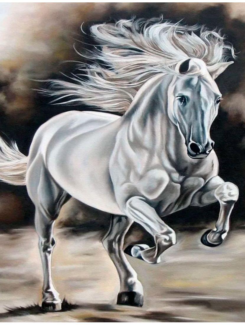 """Алмазная мозаика """"Гордая лошадь"""""""