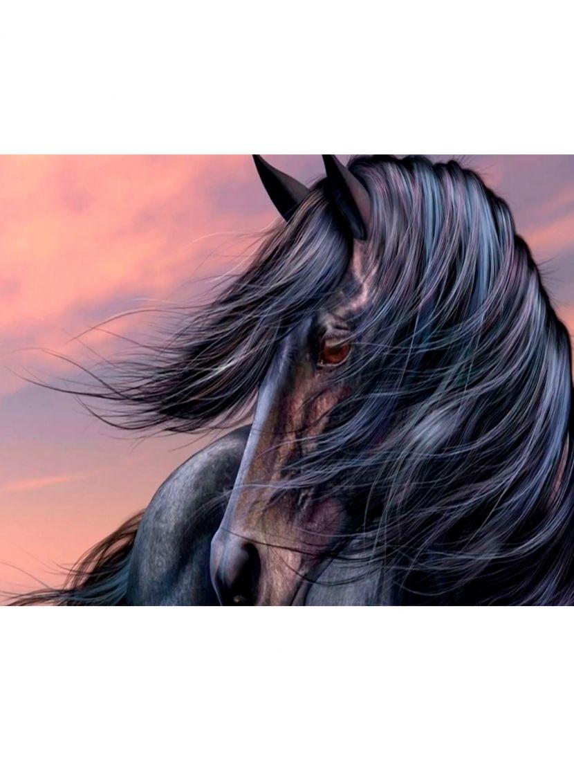 """Алмазная мозаика """"Домашняя лошадь"""""""