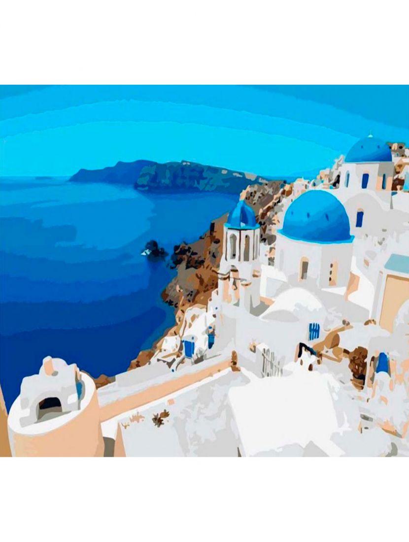 Картина по номерам  на подрамнике «Вулканический остров Тира»