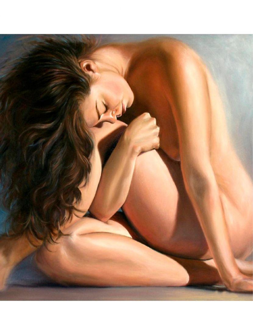 "Картина по номерам  на подрамнике ""Красота женского тела"""