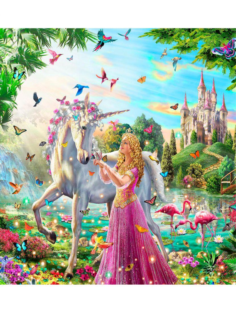 """Картина по номерам  на подрамнике """"Сказочная принцесса"""""""