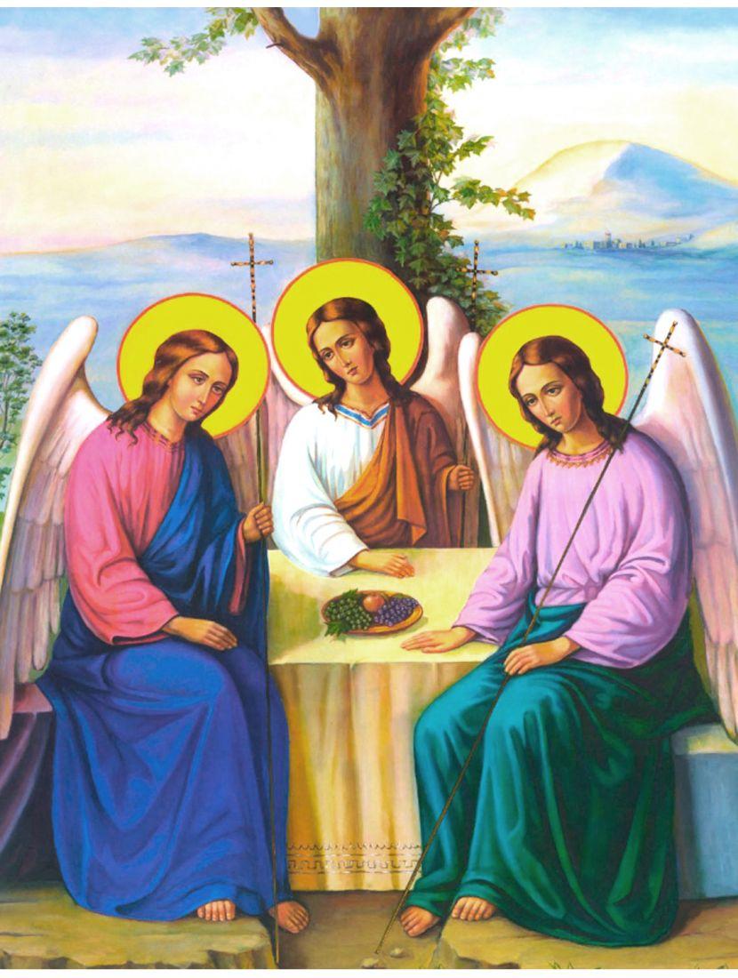 Алмазная мозаика «Пресвятая Троица» икона