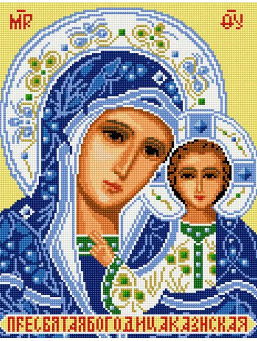 Алмазная мозаика «Пресвятая Богородица. Казанская» икона