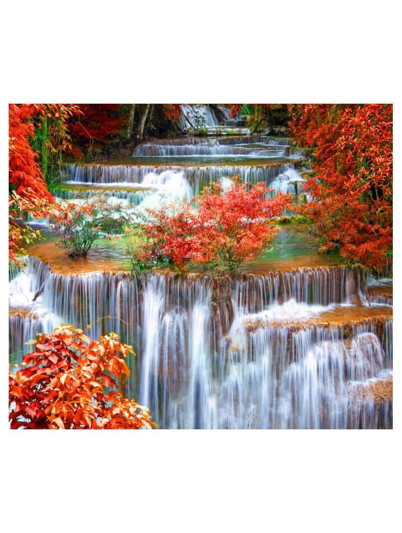 Картина по номерам «Осенний водопад»