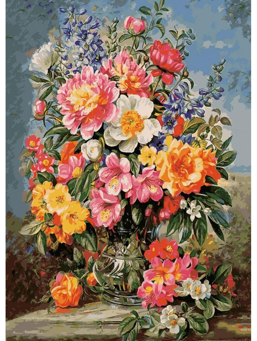 Картина по номерам «Благоухание цветов»