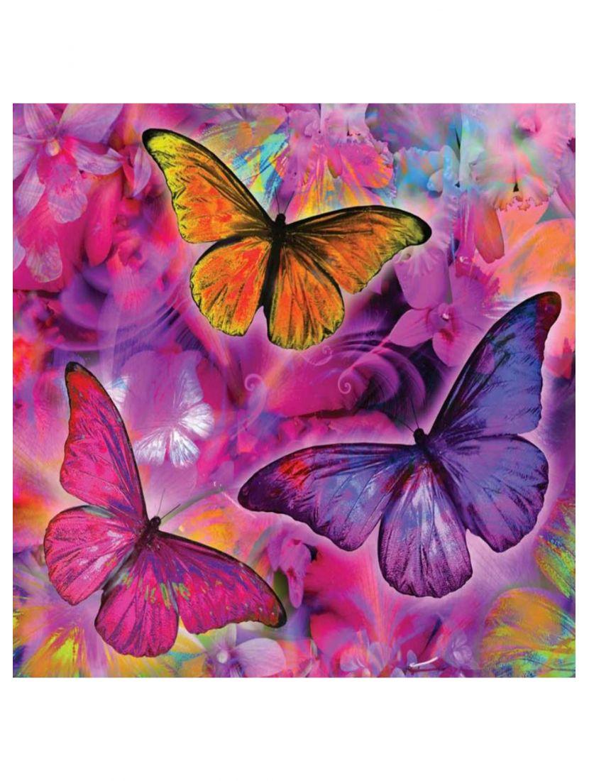 """Картина по номерам """"Яркие бабочки"""""""