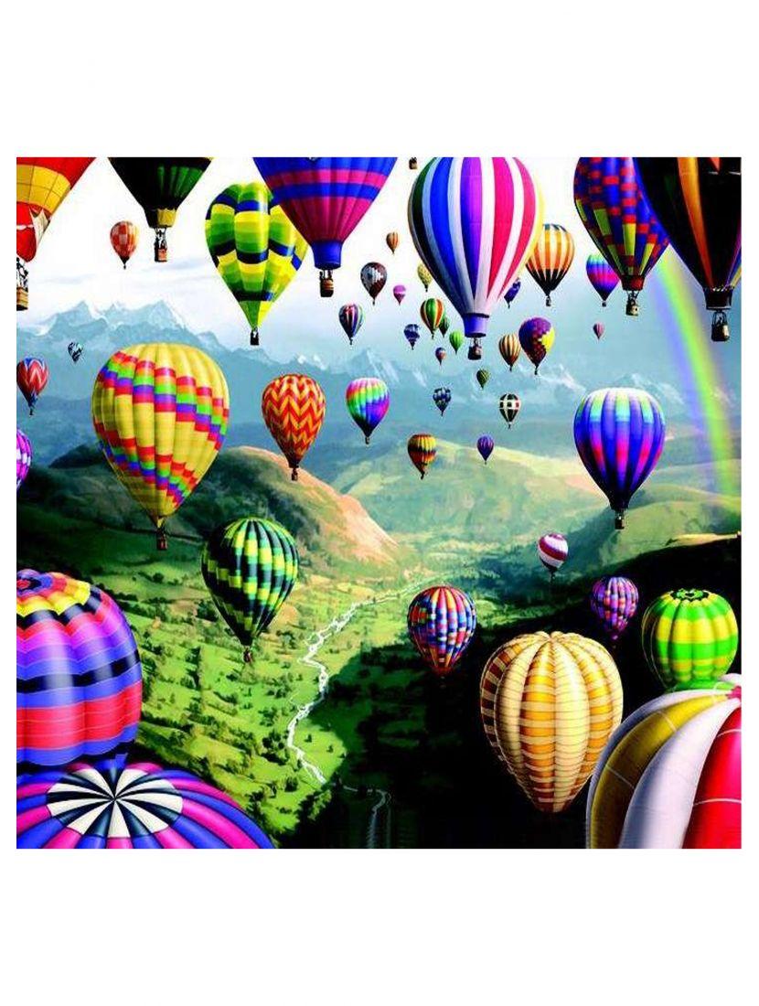 Картина по номерам «Воздушные шары»