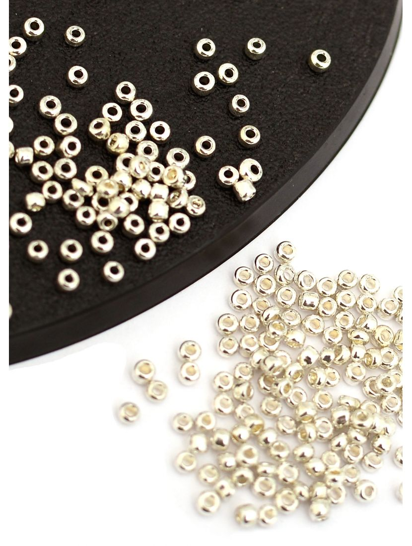 """Бисер """"Glass bead"""" размер 12, фасовка 50 гр"""