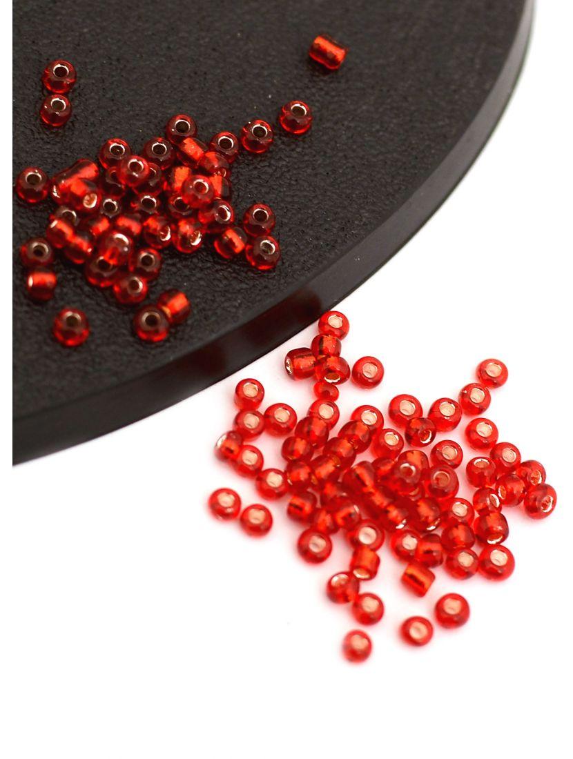 Бисер «Glass bead» размер 12, фасовка 50 гр