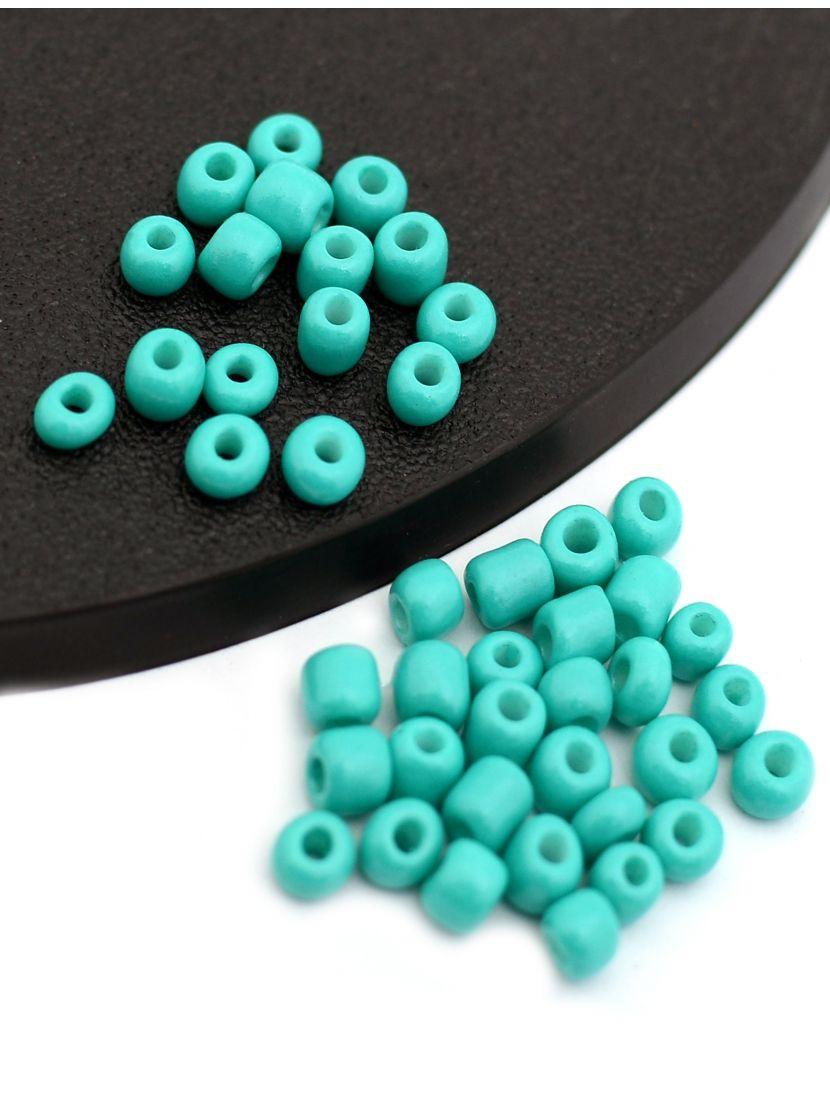 Бисер «Glass bead-1-7» размер 6, фасовка 50 гр