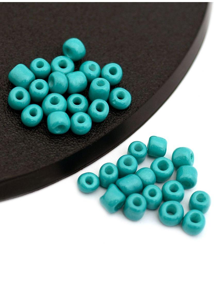 Бисер «Glass bead» размер 6, фасовка 50 гр