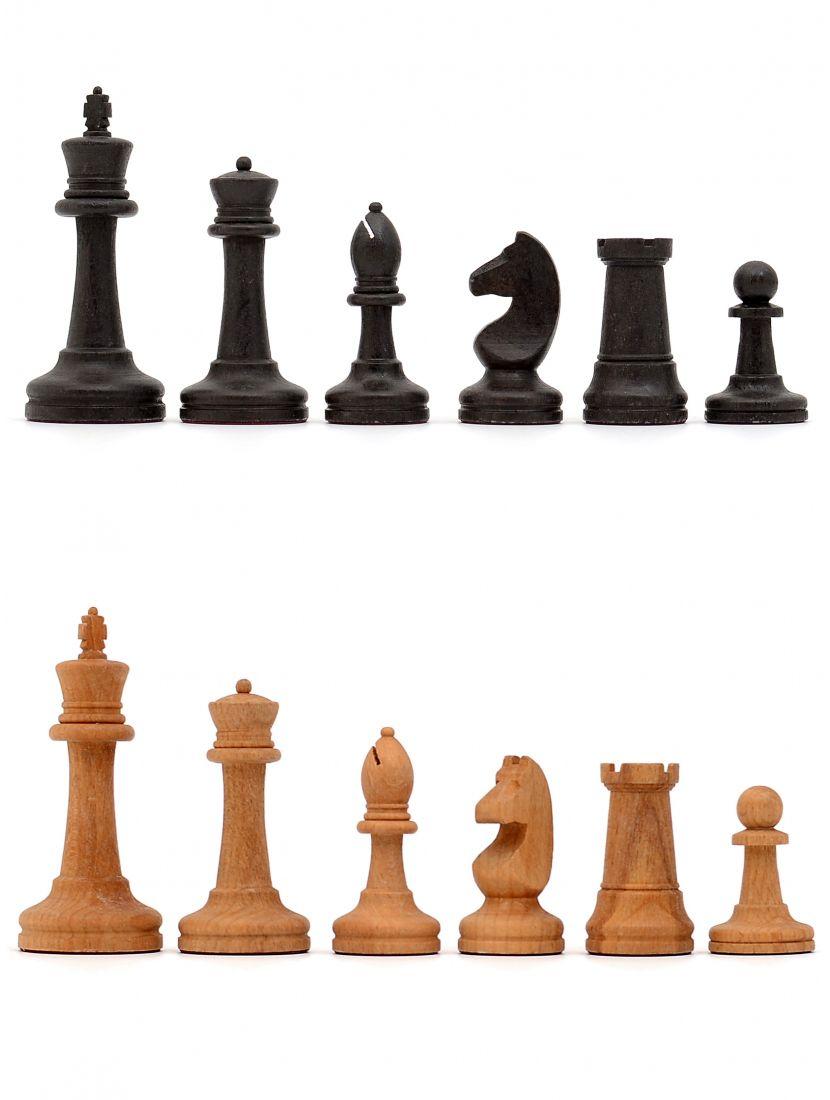 Шахматные фигуры большие «Купеческие» с утяжелением