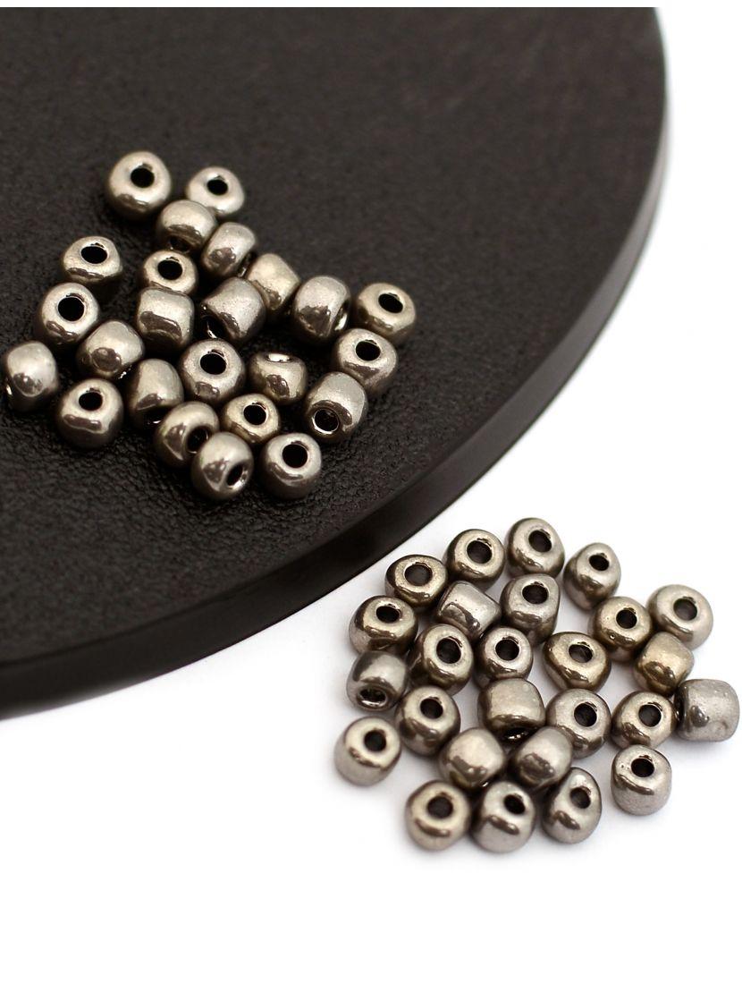 """Бисер """"Glass bead"""" размер 6, фасовка 50 гр"""
