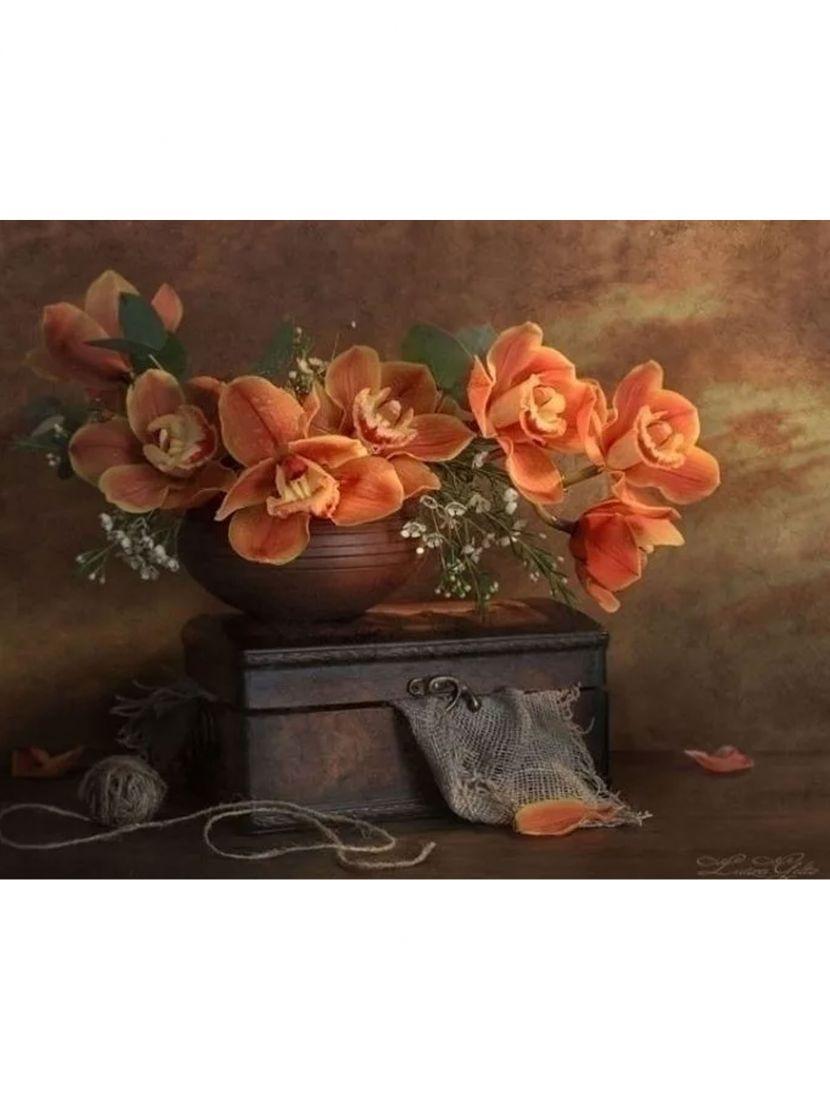 Набор для вышивания бисером «Цветы»