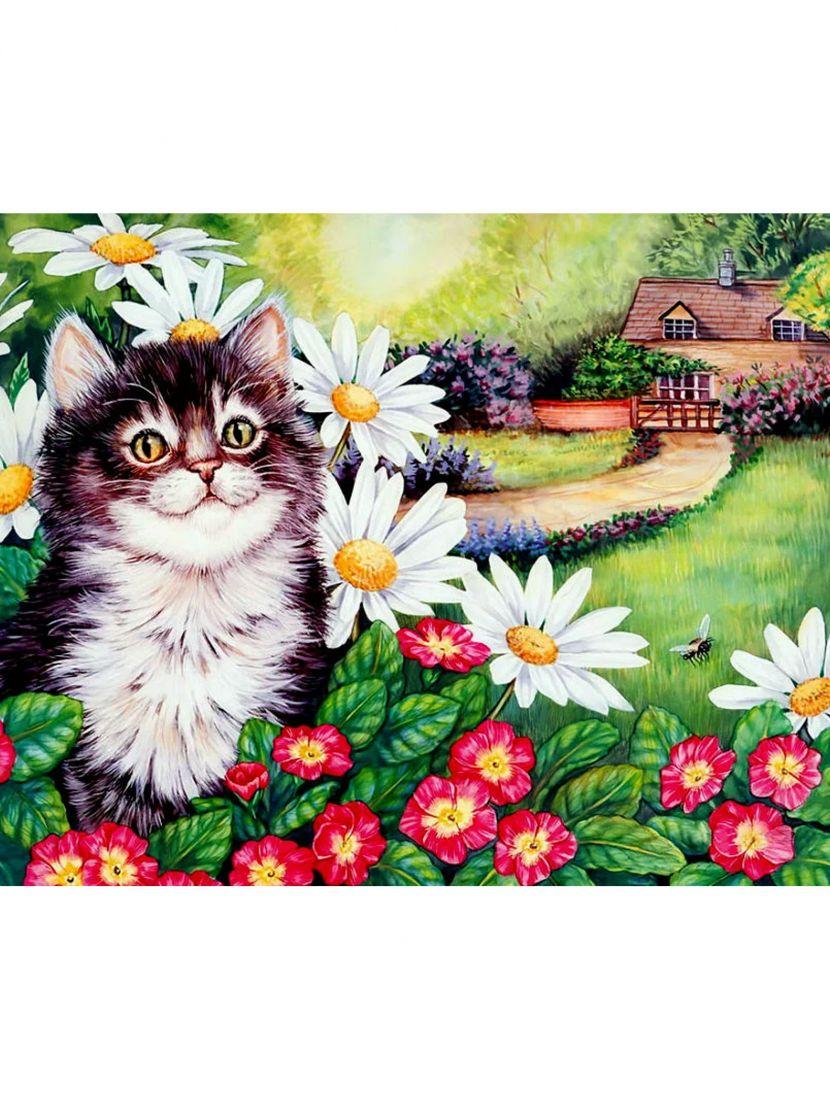 Набор для вышивания бисером «Котёнок»