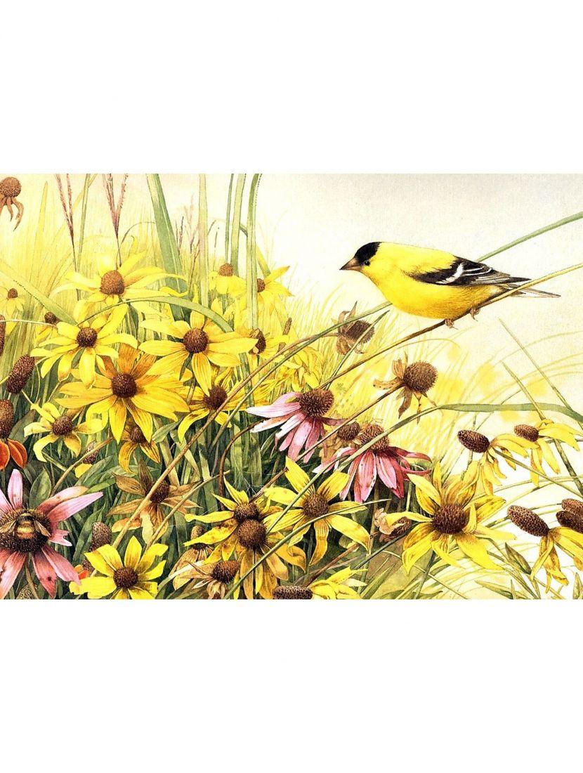 """Набор для вышивания бисером """"Птицы и цветы"""""""