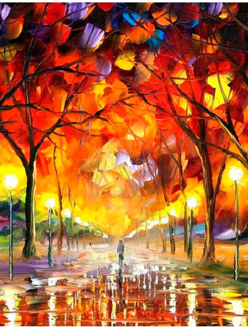 """Картина по номерам  на подрамнике """"Осенний ноктюрн"""""""