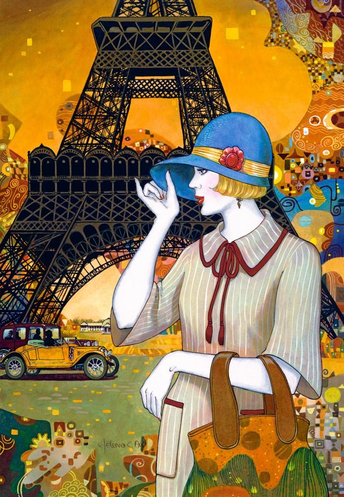 Открытка, открытки художников современных