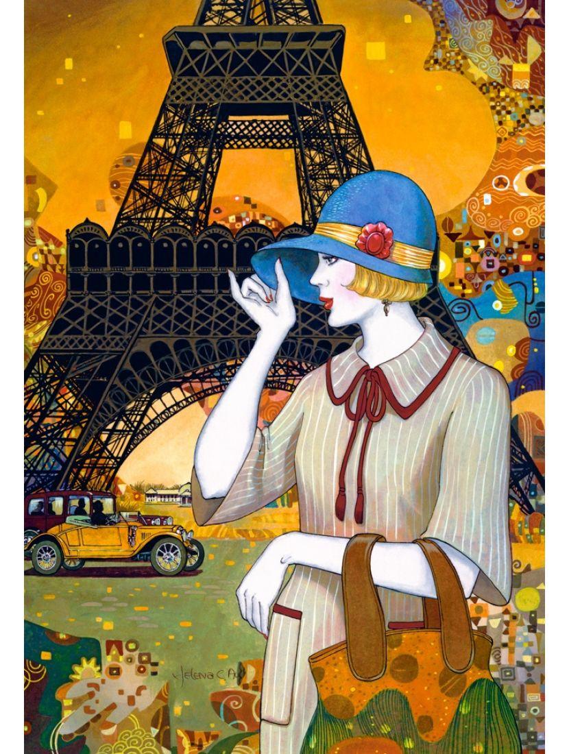 Пазл «Парижская улочка» 1000 элементов