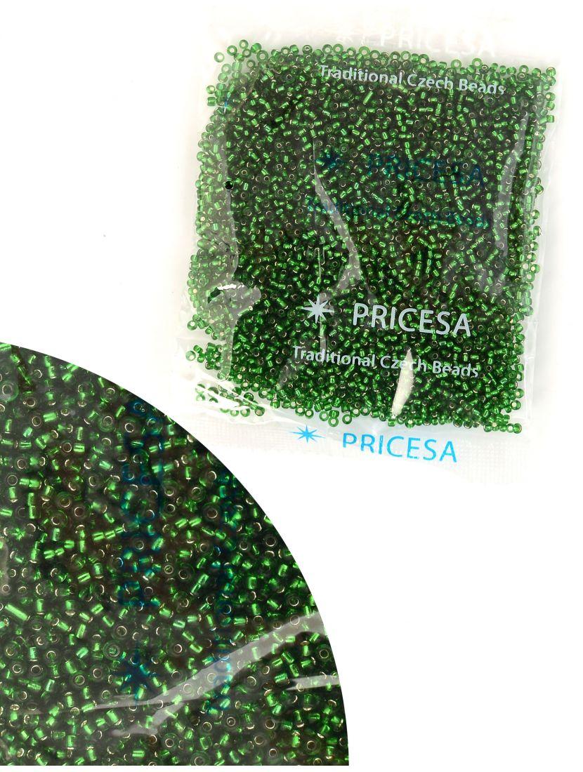 """Бисер откалиброванный """"Pricesa-3-49"""" размер 12, фасовка 50 гр"""