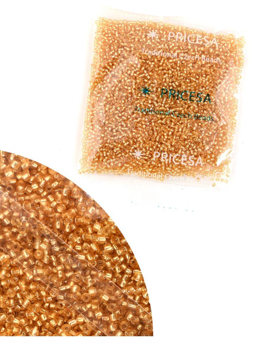 Бисер откалиброванный «Pricesa-3-29» размер 12, фасовка 50 гр