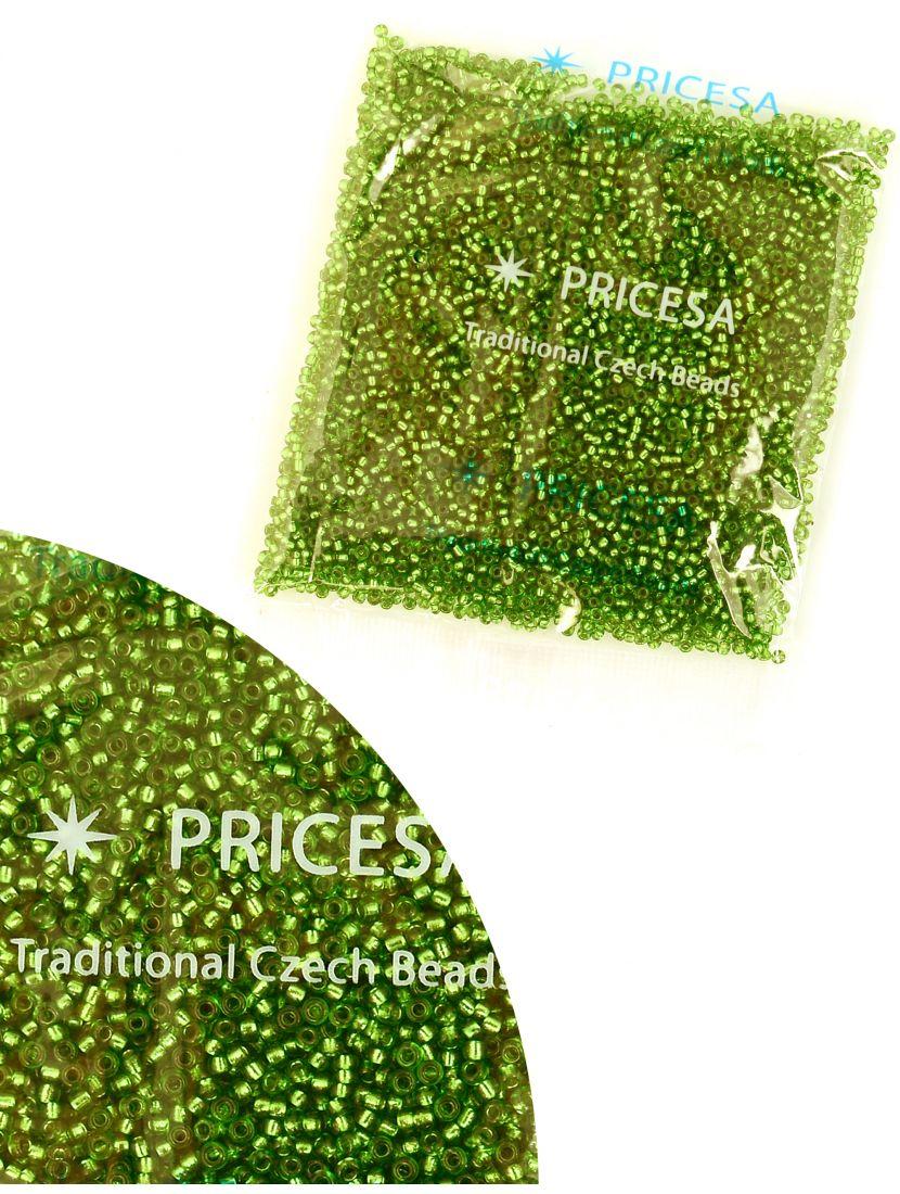 Бисер откалиброванный «Pricesa-3-23» размер 12, фасовка 50 гр