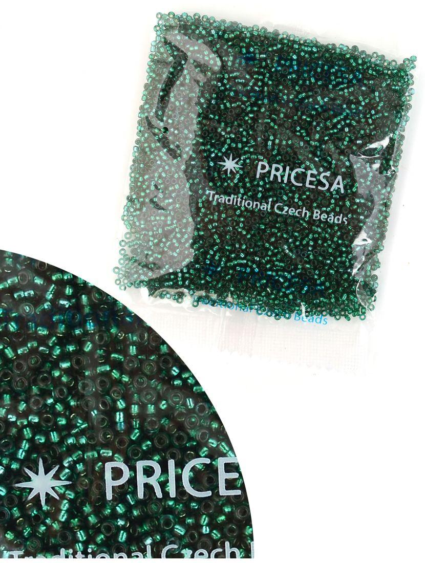 Бисер откалиброванный «Pricesa-3-22» размер 12, фасовка 50 гр