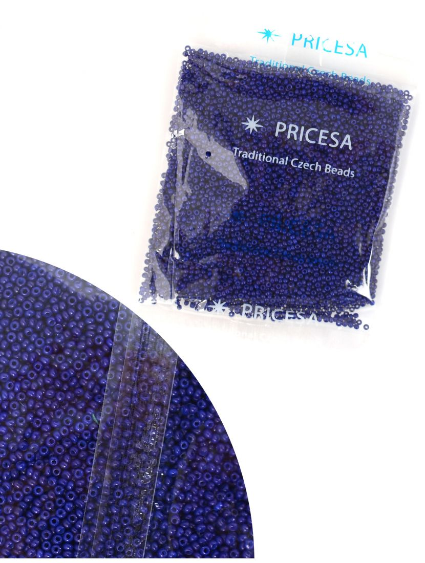 Бисер откалиброванный «Pricesa-3-19» размер 12, фасовка 50 гр