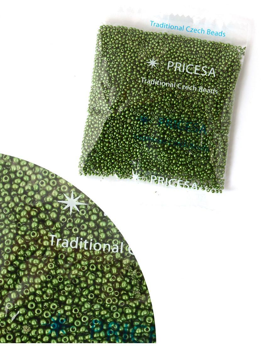 Бисер откалиброванный «Pricesa-3-3» размер 12, фасовка 50 гр