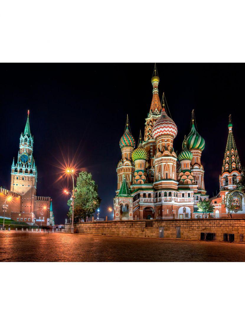 """Алмазная мозаика """"Храм Василия Блаженного"""""""