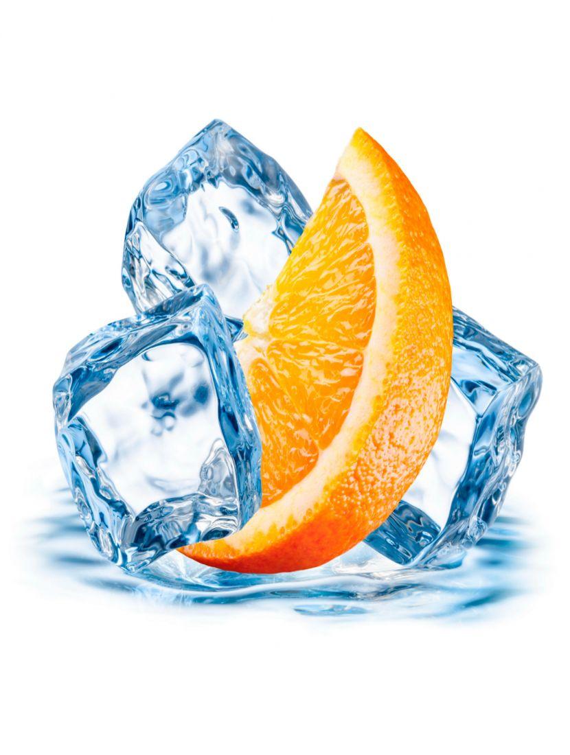 Алмазная мозаика «Апельсин со льдом»