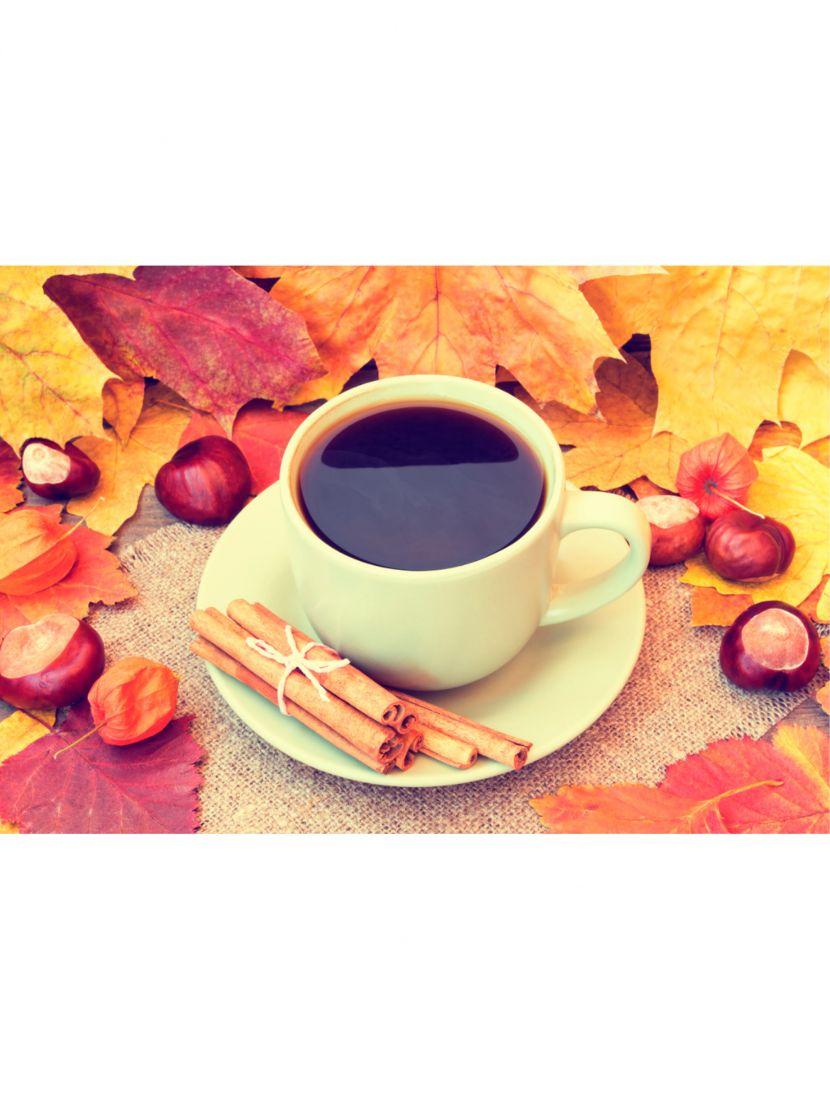 Алмазная мозаика «Осенний кофе»