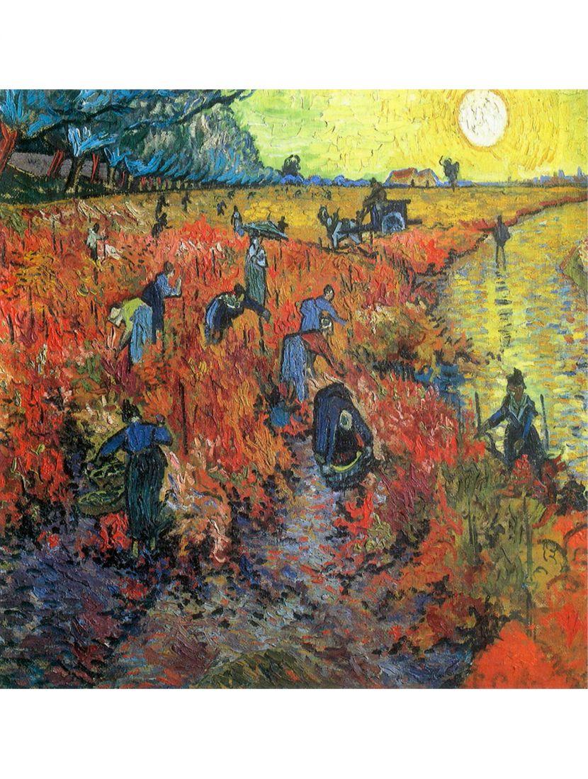 Алмазная мозаика «Красные виноградники в Арле»