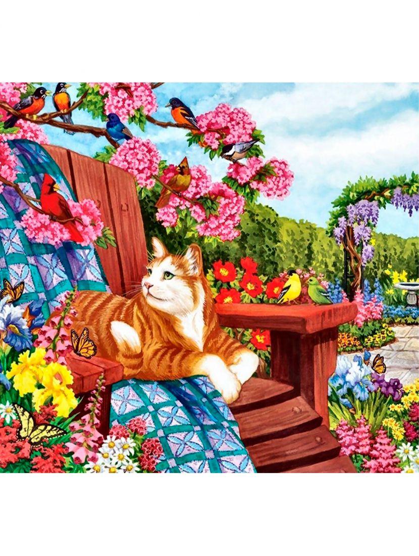Алмазная мозаика «Весеннее цветение»