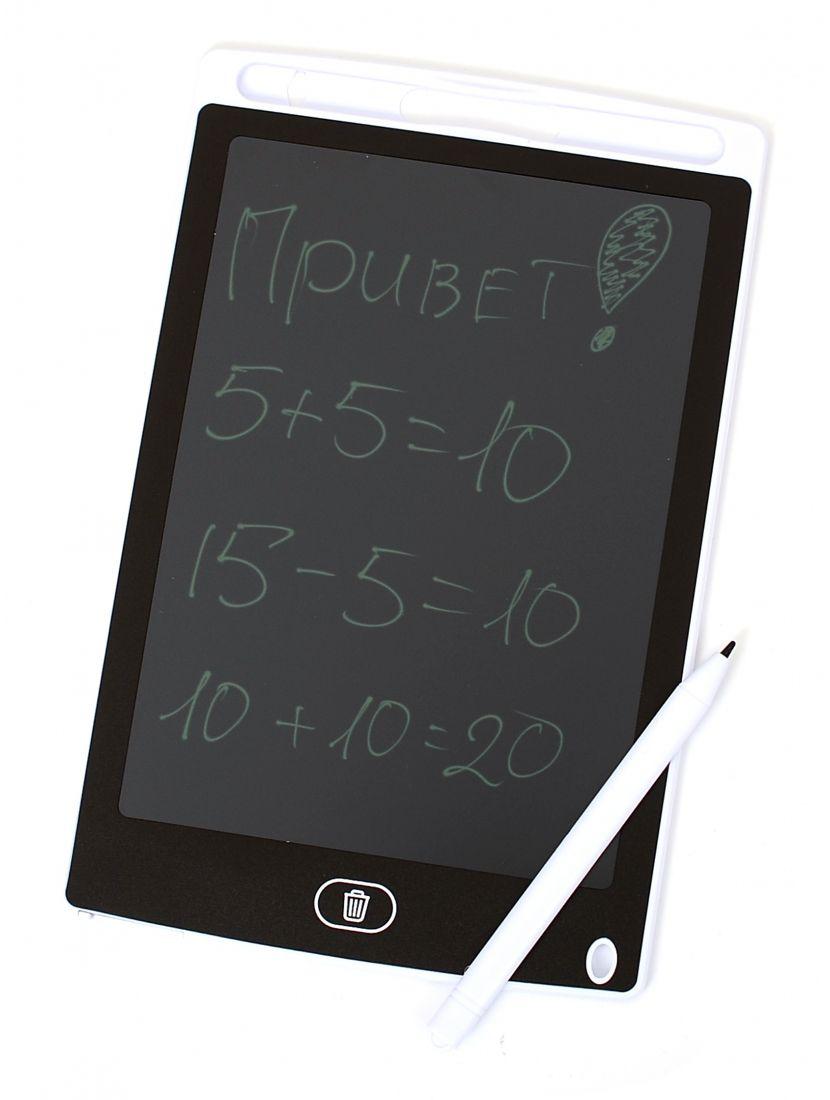 Графический планшет для рисования 8.5 дюйма, электронный белый