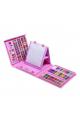 Набор для рисования в кейсе 176 предметов розовый