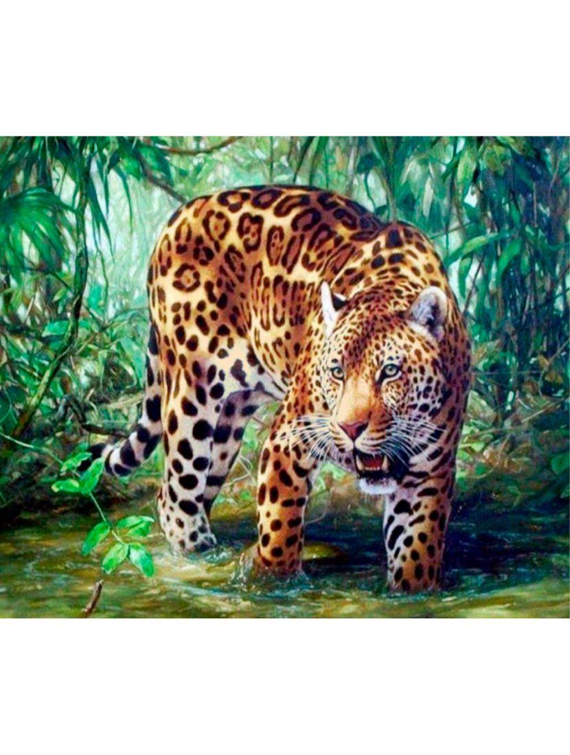 Картина по номерам «Ягуар»