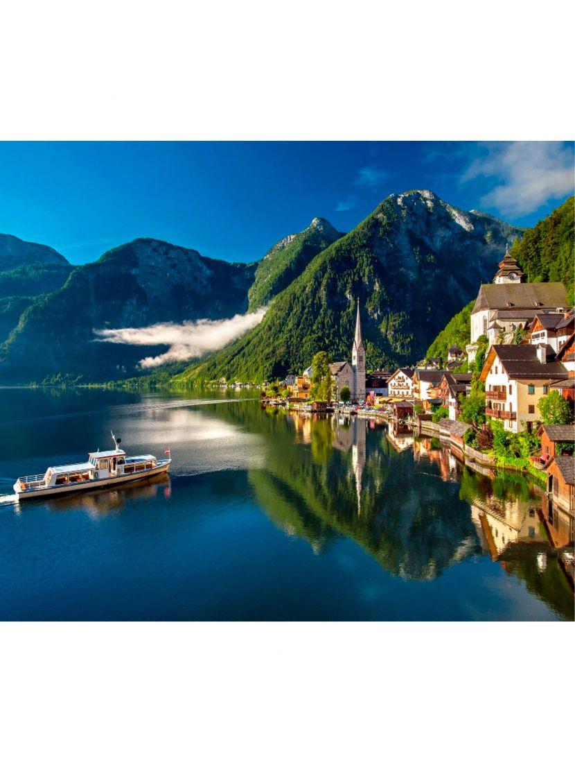 Картина по номерам «Хальштатт Австрия»