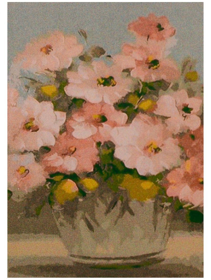 Картина по номерам «Цветы акварелью»