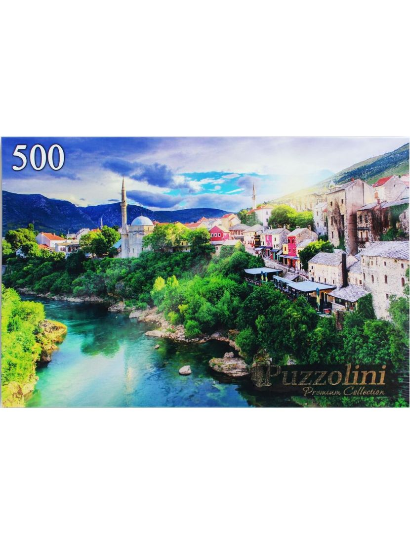 Пазл «Город Мостар» 500 элементов