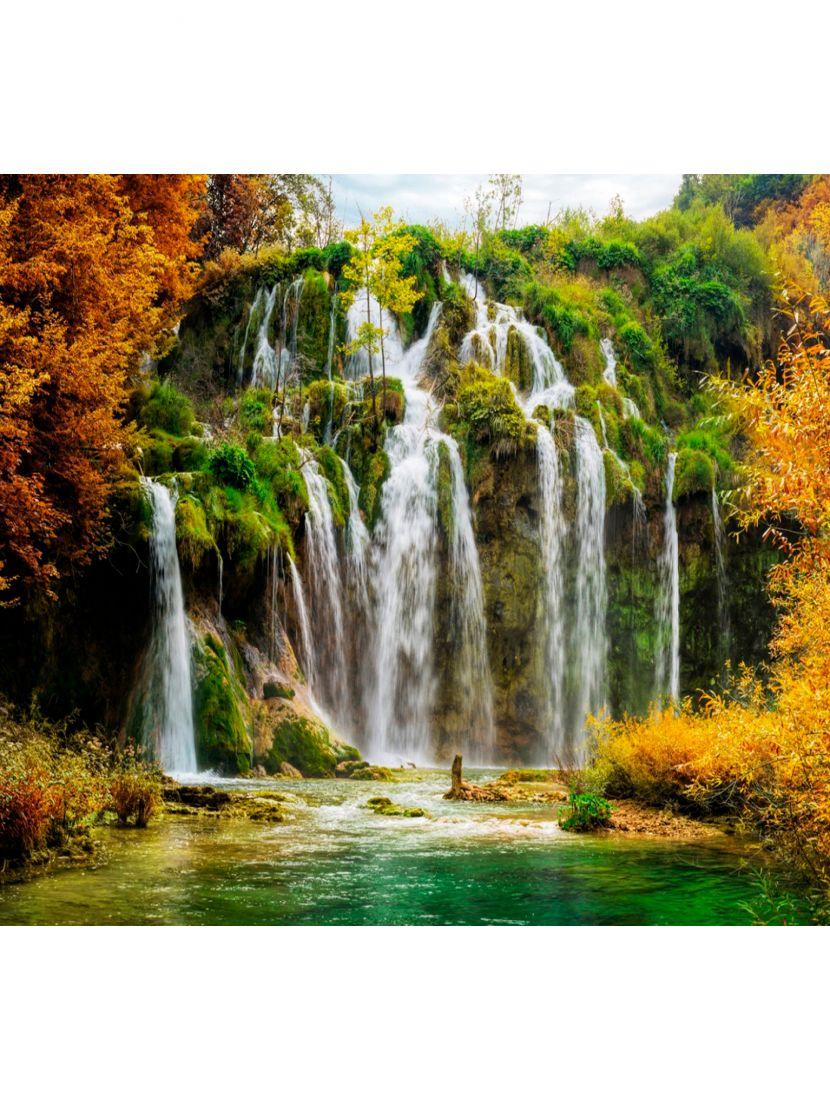 Картина по номерам  на подрамнике «Водопад»