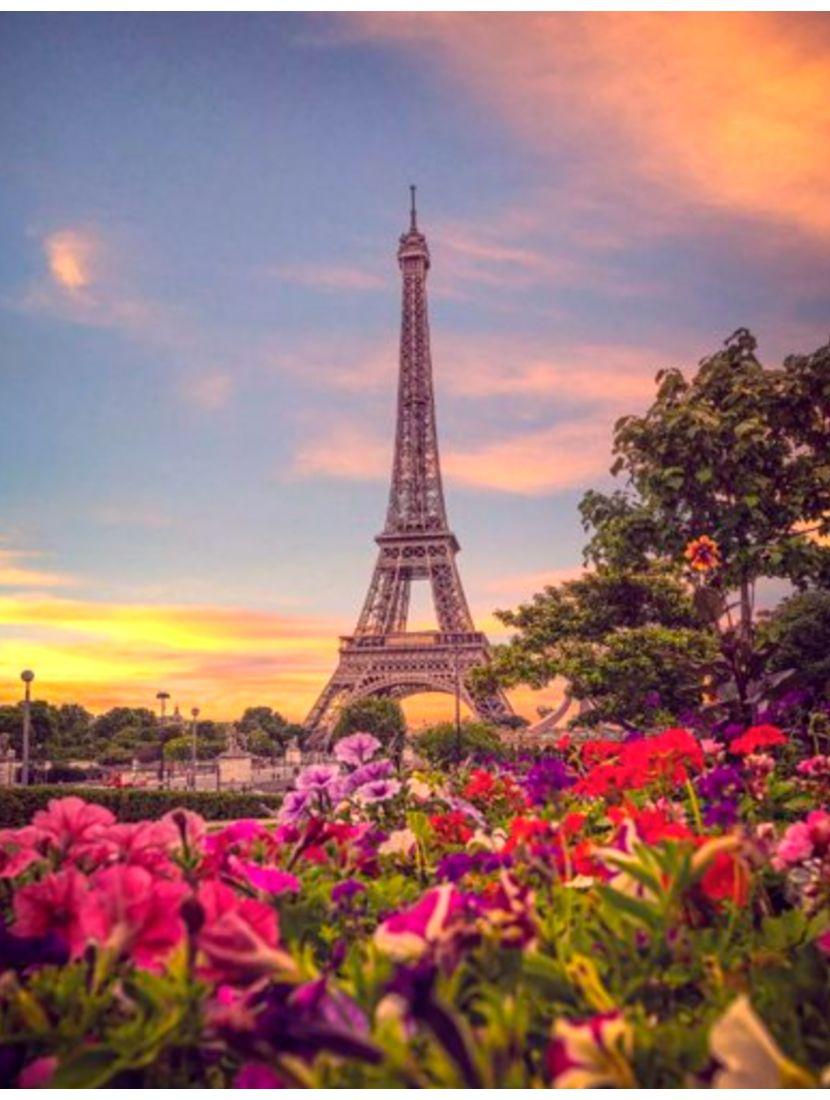Алмазная мозаика «Парижский вечер»