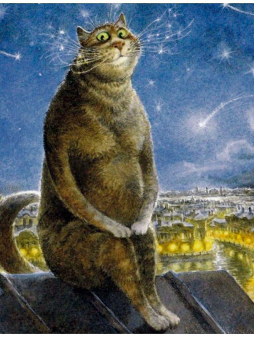 Алмазная мозаика «Мартовский кот»