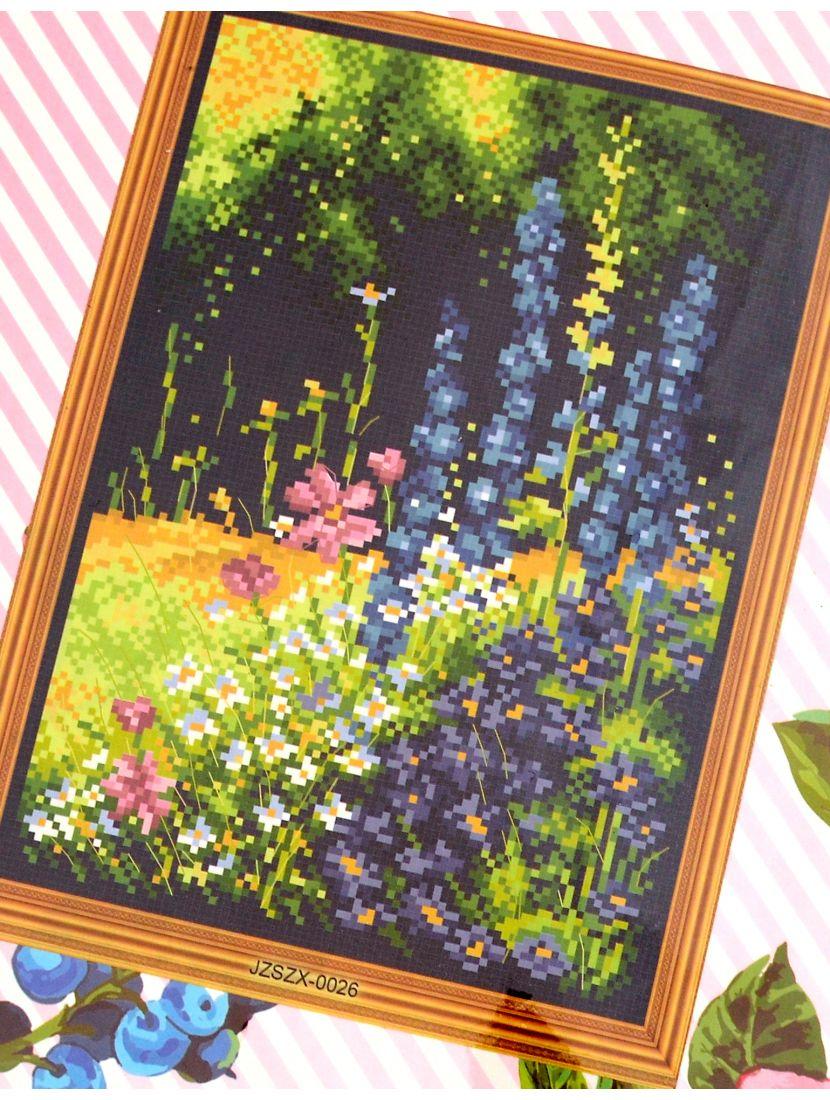 Набор для вышивания крестом «Луговые цветы»