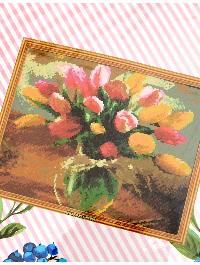 Набор для вышивания крестом «Тюльпаны»
