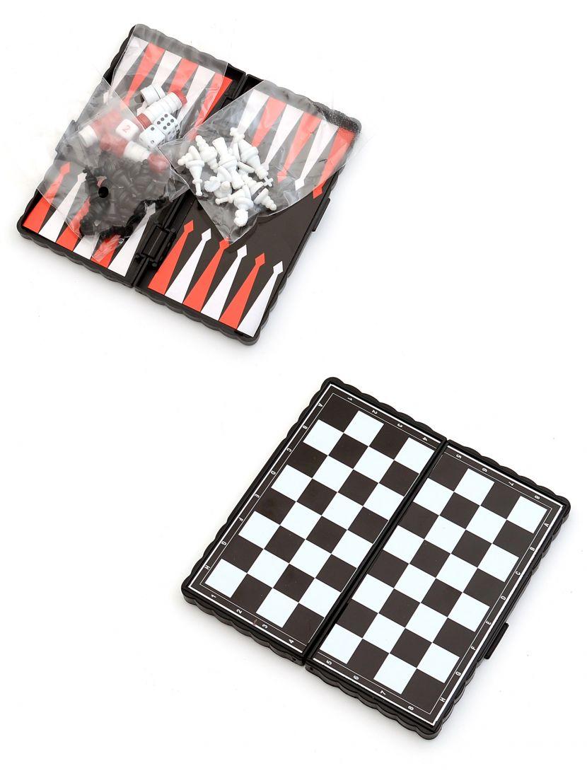 Игра 3 в 1 «Партия» (шашки, шахматы, нарды)