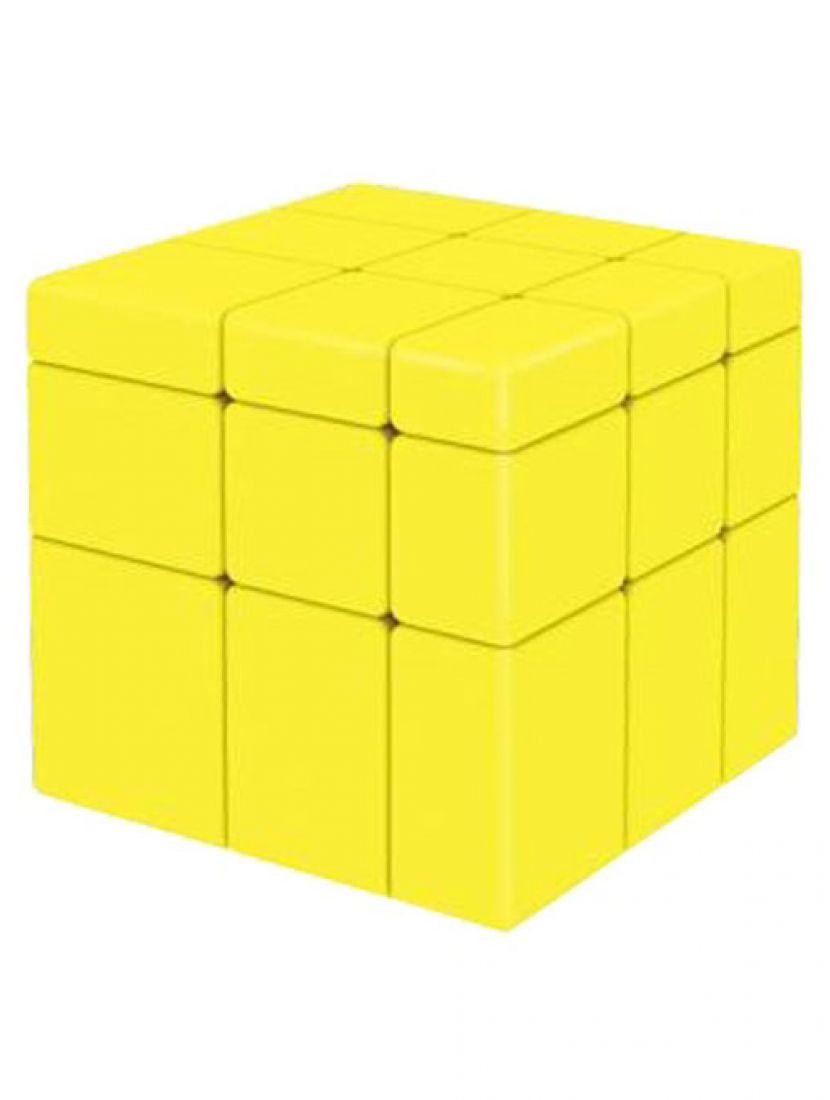 Кубик зеркальный «Mirror» жёлтый